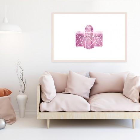 kamera origami poster