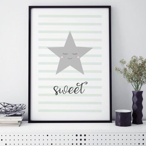 sweet stern poster