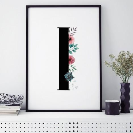 Poster Florales I