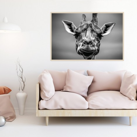 Poster Giraffe Helga