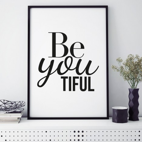 Poster Be you tiful