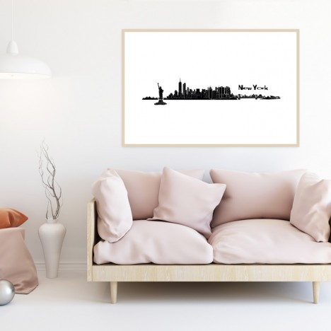 Poster Skyline New York