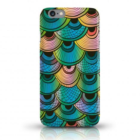 Handycase mit Fischschuppen Muster