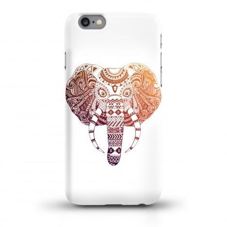 JUNIWORDS Handycase bunter Elefant auf weiß