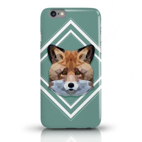 JUNIWORDS Handycase Fuchs Lowpoly