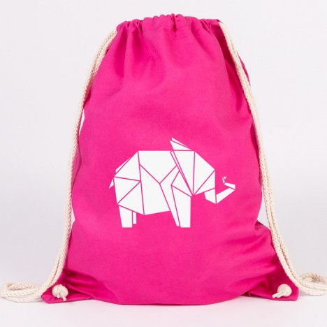 turnbeutel elefant origami