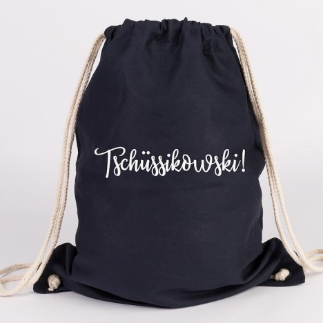 JUNIWORDS Turnbeutel Tschüssikowski