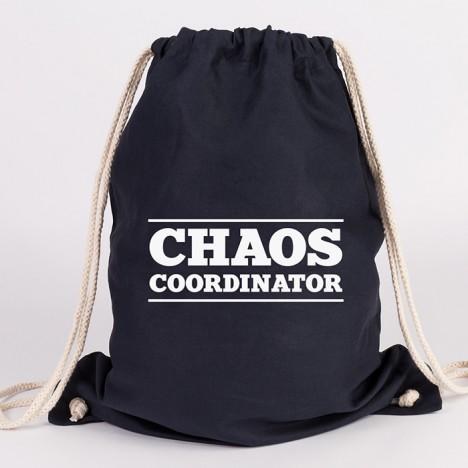 JUNIWORDS Turnbeutel Chaos coordinator