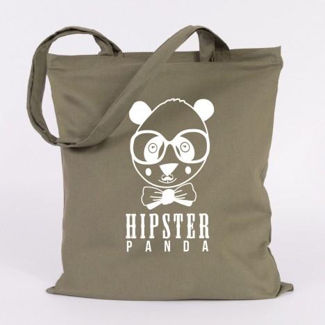 JUNIWORDS Jutebeutel Hipster Panda