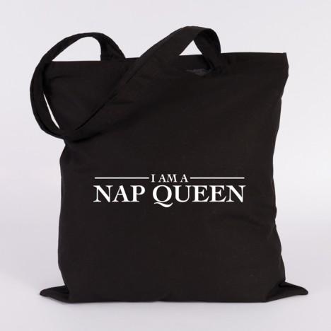 i am a nap queen jutebeutel