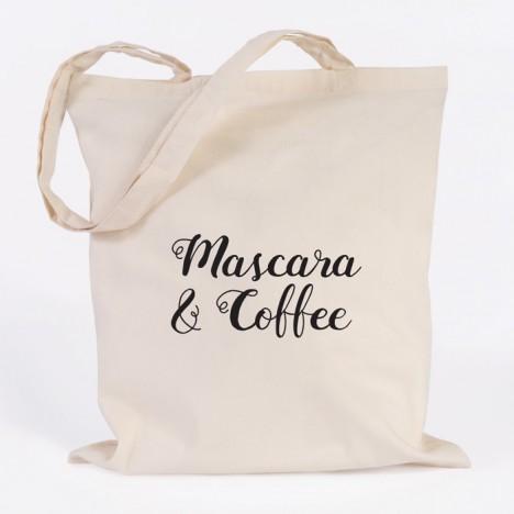 JUNIWORDS Jutebeutel Mascara & Coffee