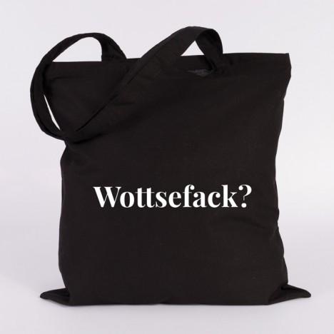 JUNIWORDS Jutebeutel Wottsefack?