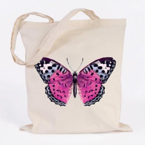 JUNIWORDS Jutebeutel Schmetterling