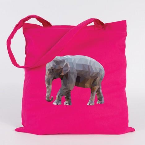 JUNIWORDS Jutebeutel Elefant