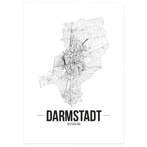 Stadtposter Darmstadt