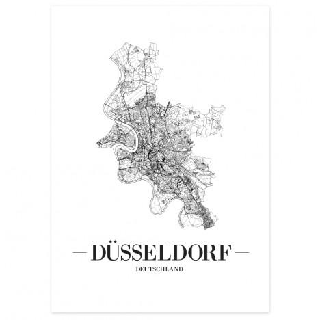 Poster Düsseldorf