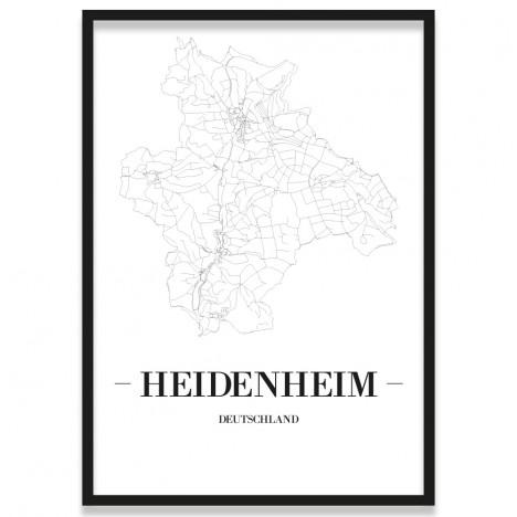 Poster Heidenheim