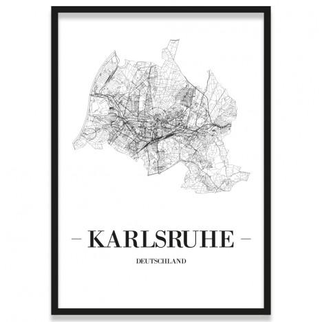 Stadtposter Karlsruhe