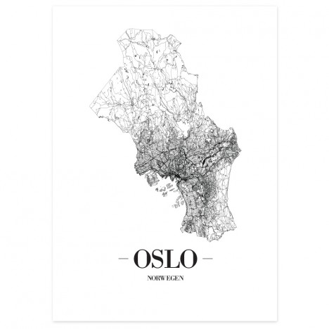 Stadtposter Oslo