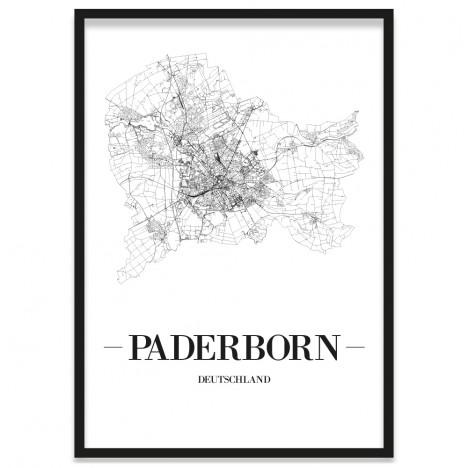 Stadtposter Paderborn Rahmen