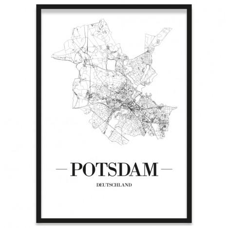 Stadtposter Potsdam Rahmen