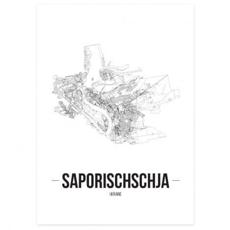 Stadtposter Saporischschja