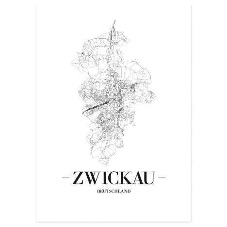 Stadtposter Zwickau