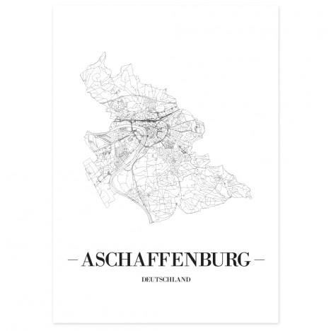 Stadtposter Aschaffenburg