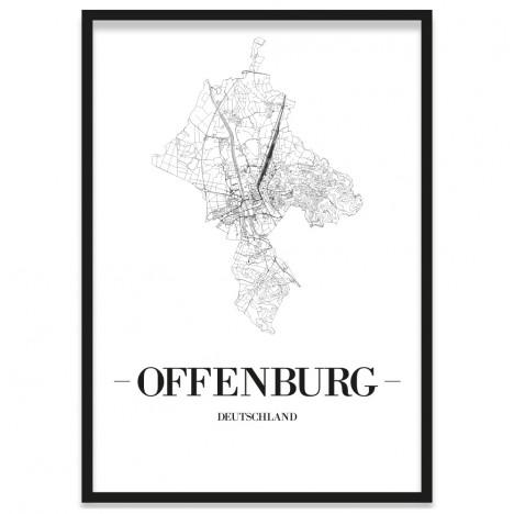 Stadtposter Offenburg Rahmen