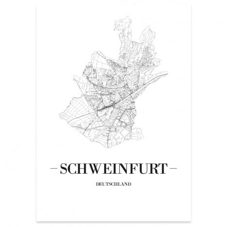Stadtposter Schweinfurt
