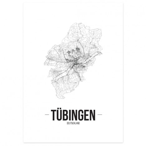 Stadtposter Tübingen