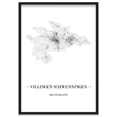 Stadtposter Villingen-Schwenningen Rahmen