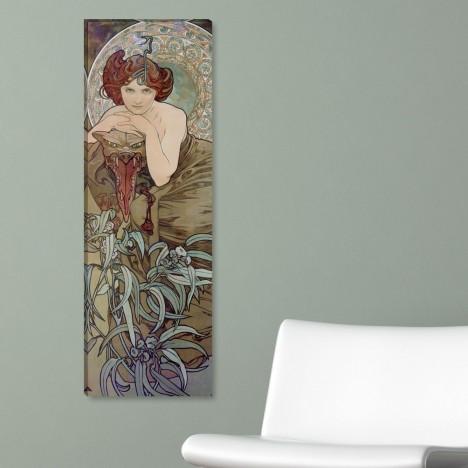 Alfons Mucha Leinwandbild auf Wand