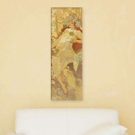 Alfons Mucha - Jahreziet Herbst