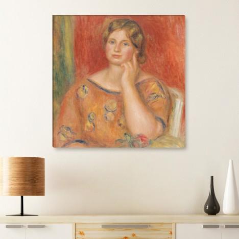 Gemälde - Frau Osthaus