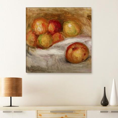 Gemälde - Stillleben mit Äpfeln