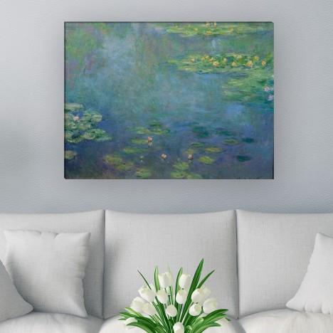 Seerosenteich von Claude Monet als Leinwandbild