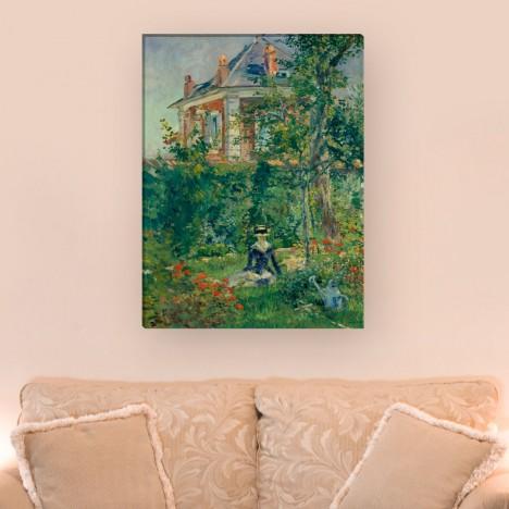 Édouard Manet - Marguerite im Garten von Bellevue