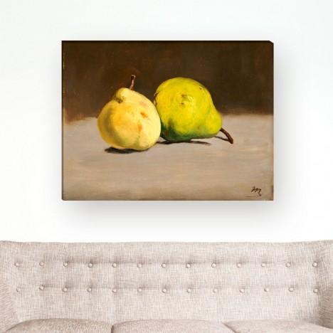Édouard Manet - zwei Birnen