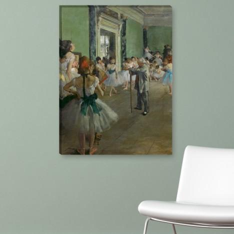 Gemälde - die Tanzklasse