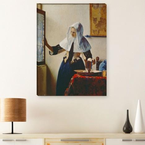 Junge frau mit wasserkrug Jan Vermeer