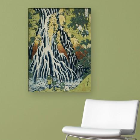 Leinwandbild der Kirifuri Wasserfall