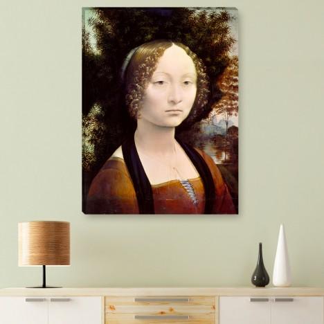 Leonardo da Vinci - Leinwandbild