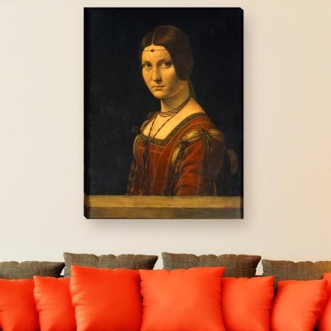 Da Vinci Leinwandbild