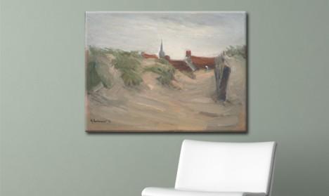 Leinwandbild Dünen von Katwijk