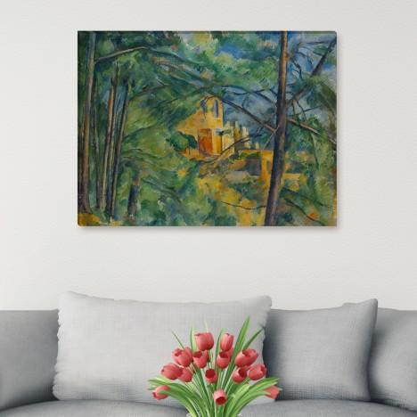 Paul Cézanne - Chateau Noir
