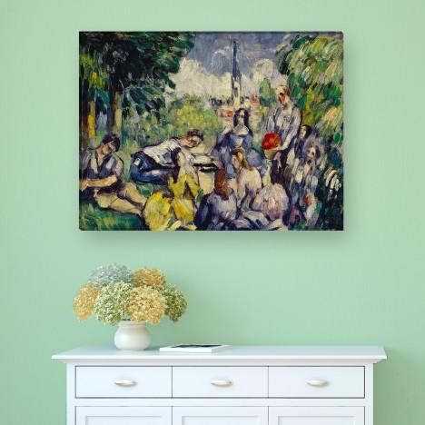 Paul Cézanne - Frühstück im Grünen