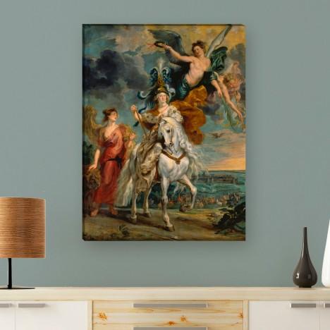 die Einnahme von Jülich von Peter Paul Rubens als Leinwandbild zum aufhängen