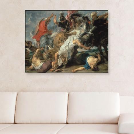 Peter Paul Rubens - Die Löwenjagd