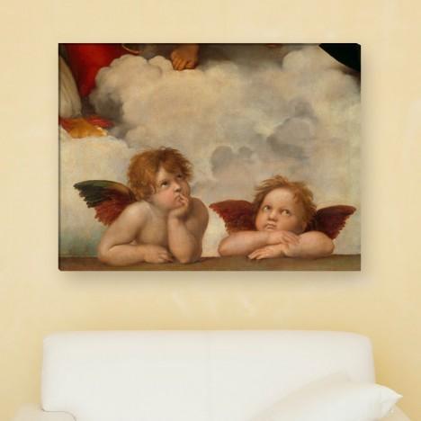 Raffael zwei Engel